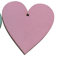 Pink Wooden Heart [+9,69 lei]