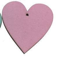 Pink Wooden Heart [+$3.23]
