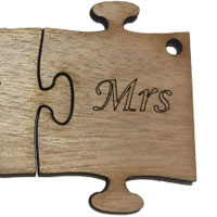 Wooden Ms Puzzle [+Fr. 1.07]